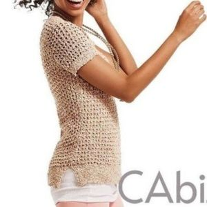Cabi Sorbet Confetti Sweater, M, Loose Weave, EUC